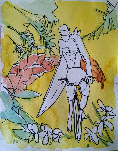aquarela Bike
