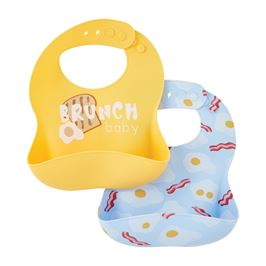 Brunch Silicone Bib Sets