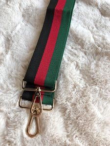 Black + Green + Red Strap