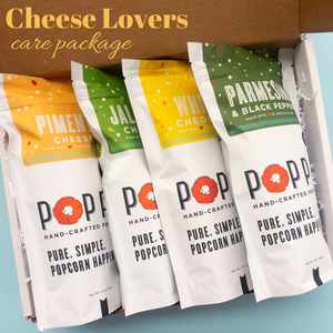Cheese Lovers Popcorn Package