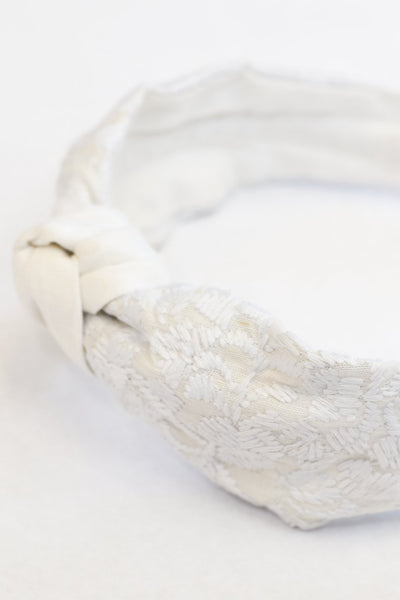 Mona Headband - White
