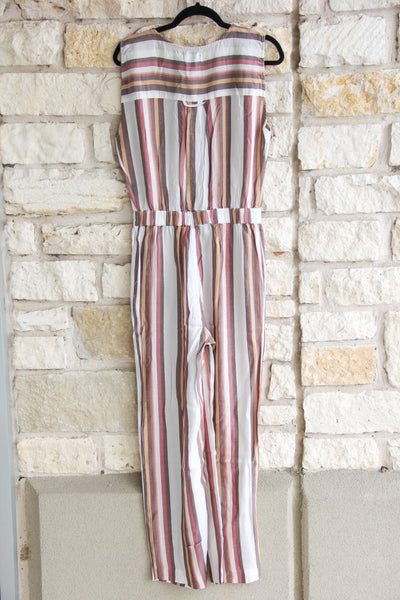 Rumi Striped Jumpsuit