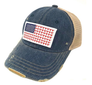 Steer Flag Patch Hat