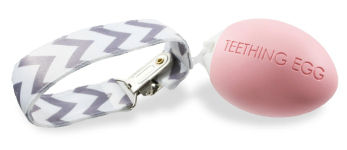 Pink Teething Egg
