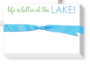 Lake Big & Bold Notepad