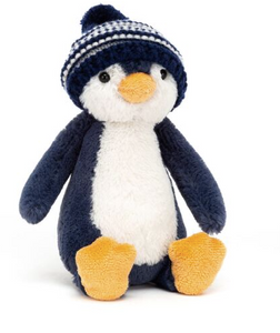 Bashful Penguin Bobble Hat