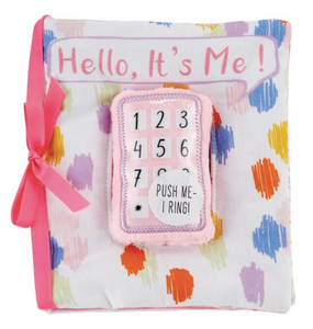 Pink Baby Phone Book