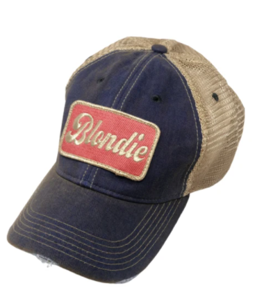 Metallic Blondie Patch Hat
