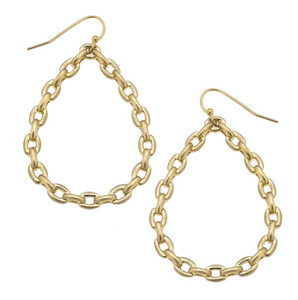 Kat Frozen Chain Link Earrings