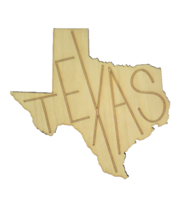 Texas Cutout Coasters