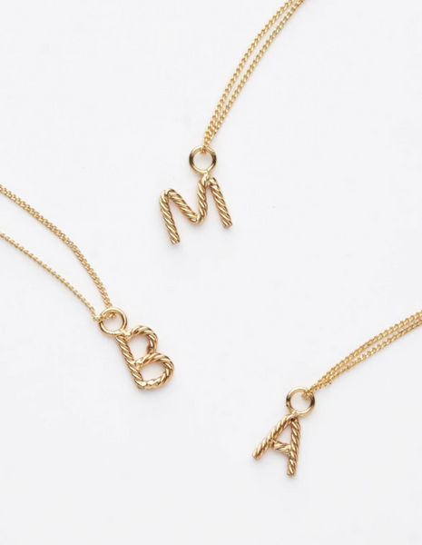 Mini Aspen Initial Necklace
