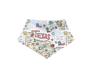 Texas Map Bib