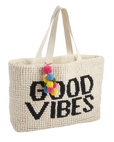 Good Vibes Summer Tote Bag