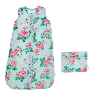Muslin Sleep Sack - Garden Rose