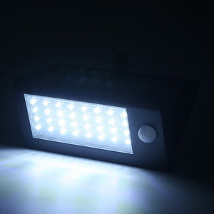 Wireless Pir Motion Sensor Solar Powered Wall Lights - P & M Gear