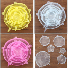 Load image into Gallery viewer, 6 Pcs/ Set Universal Silicone Bowl Cover Stretch Lids - P & M Gear