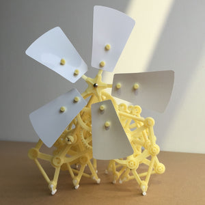 Wind power Bionic Beast. DIY Build toy robot - P & M Gear