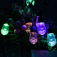 Load image into Gallery viewer, 12 Bulb Solar Powered Garden String Light LED - P & M Gear