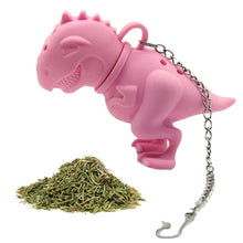 Load image into Gallery viewer, Dinosaur Shaped Tea Infuser - Tea Bag Replacement - P & M Gear