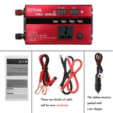 Load image into Gallery viewer, 3000W Solar Power Inverter  12 V 110 V Voltage Converter - P & M Gear