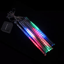 Load image into Gallery viewer, Solar Meteor Shower LED Tube Light 30cm 8 Tubes Waterproof Led Garden Light - P & M Gear