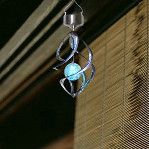 Solar Power Wind Chime  Lamp - P & M Gear