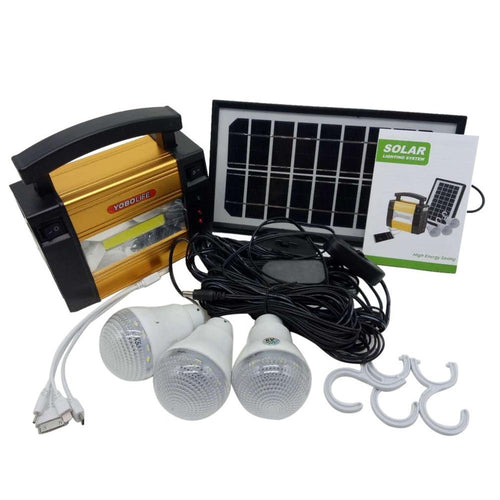 Solar Power System Generator for LED Bulbs - P & M Gear
