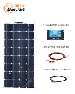 100W 12 V Mono solar panel Starter Kit 100 watt - P & M Gear