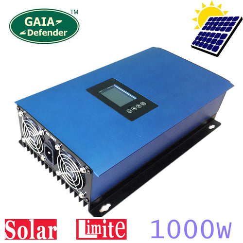 1000W Solar Panel Grid Tie Inverter Limiter for Home PV Power System DC 22-65V/45-90V AC - P & M Gear