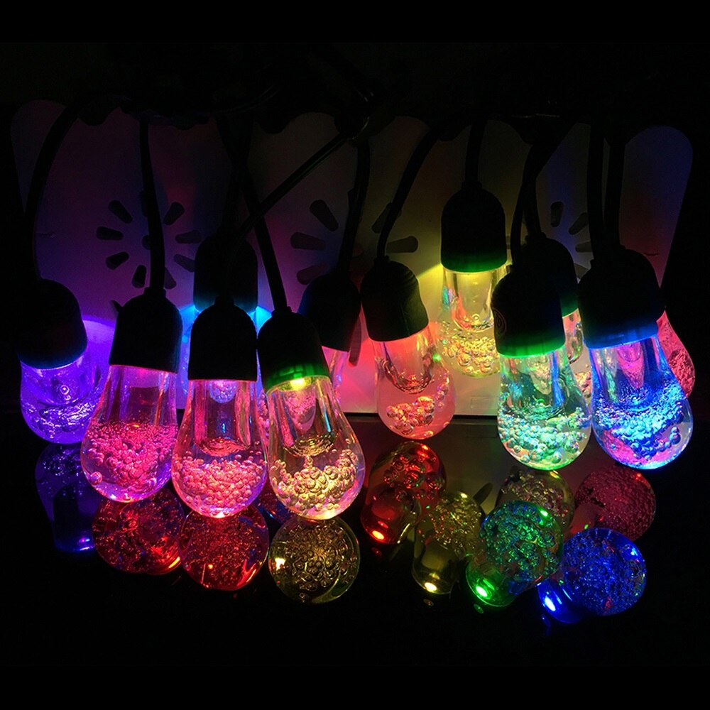 12 Bulb Solar Powered Garden String Light LED - P & M Gear