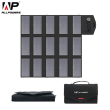 Load image into Gallery viewer, Portable Solar Panel Charger 100W 18V 12v for iPhone Laptop Cellphones - P & M Gear