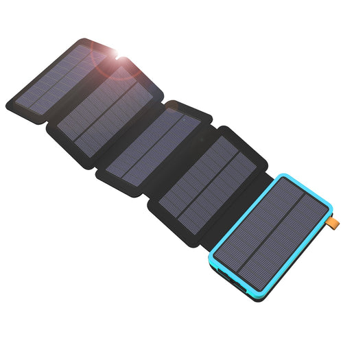 Solar Power Bank 20000mAh Waterproof  Charger External Battery - P & M Gear