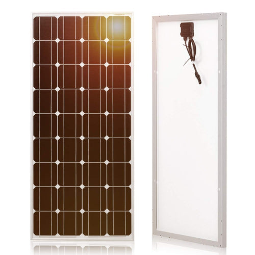 Solar Panel - 100W Monocrystalline Silicon 18V 1175x535x25MM Size - P & M Gear