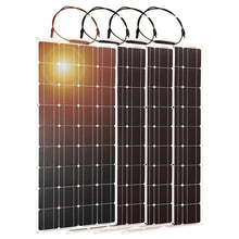Load image into Gallery viewer, 4pcs Dokio 100w Flexible Monocrystalline Solar Panel - P & M Gear