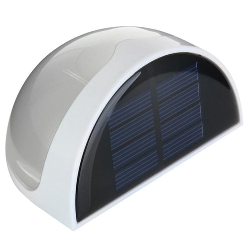 6 LED Garden Light Solar Panel  Fence / Wall Lamp - P & M Gear