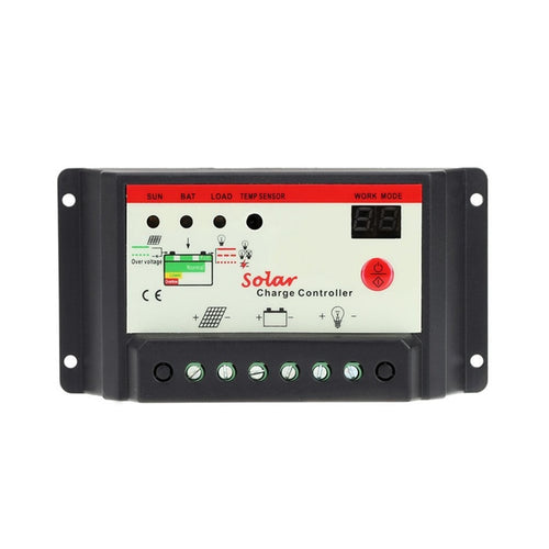 10A 20A 30A 12V 24V Solar Cell panels Battery Charge Controller - P & M Gear