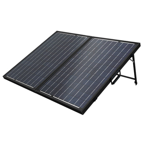 100W Poly Folding Solar Panel Cell for charging 12V battery - P & M Gear