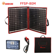 Load image into Gallery viewer, 80W (40*2) 18V Flexible Foldable Solar Panel + 12V/24V Solar Controller - P & M Gear