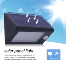 Load image into Gallery viewer, Wireless Pir Motion Sensor Solar Powered Wall Lights - P & M Gear