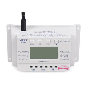 Solar Controller LCD Smart Display 20A MPPT 12V/24V - P & M Gear