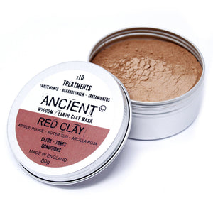 Red Clay Face Mask 80g - P & M Gear