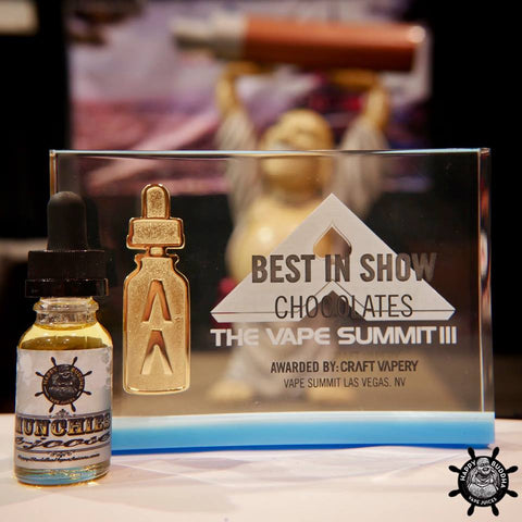 Happy Buddha Best in Show at Vape Summit now at Elevated Vaping