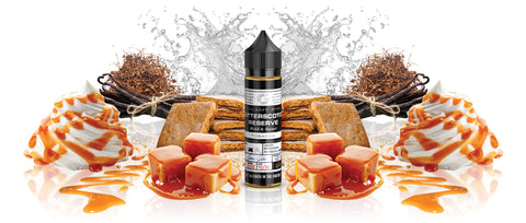 Glas BASIX - Butterscotch Reserve Tobacco 60ML E-Liquid