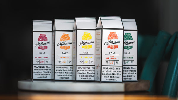 The Milkman Salt Line of Nicotine Salt