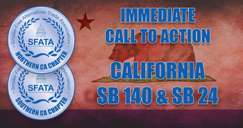 California Call to Action Elevated Vaping