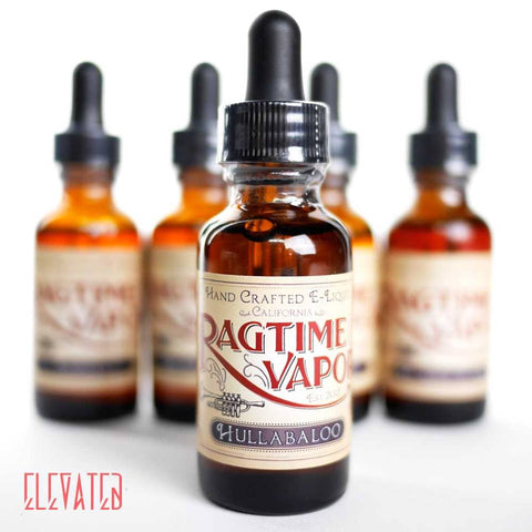 Ragtime Vapor E Juice at Elevated Vaping