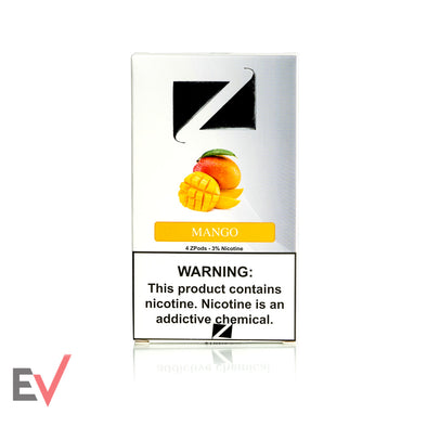 Mango 4.0% Ziip Pods for Juul devices at Elevated Vaping