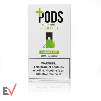 Plus Pods Apple Flavor 6%