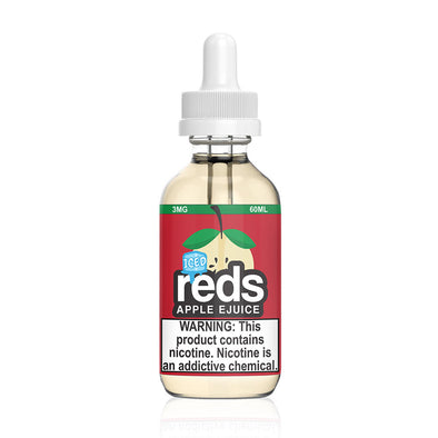 Reds Apple Iced Apple Juice by 7 Daze at Elevated Vaping