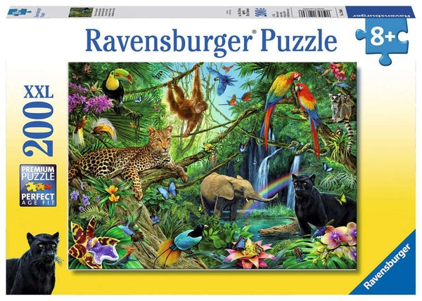 JUNGLE 200 XXL PIECE JIGSAW PUZZLE, RAVENSBURGER